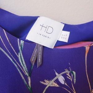 Anthropologie Dresses - HD in Paris floral 100% silk dress